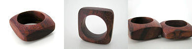 solid wood ring